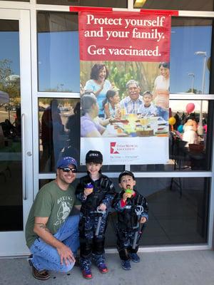 TMA Be Wise Immunize program